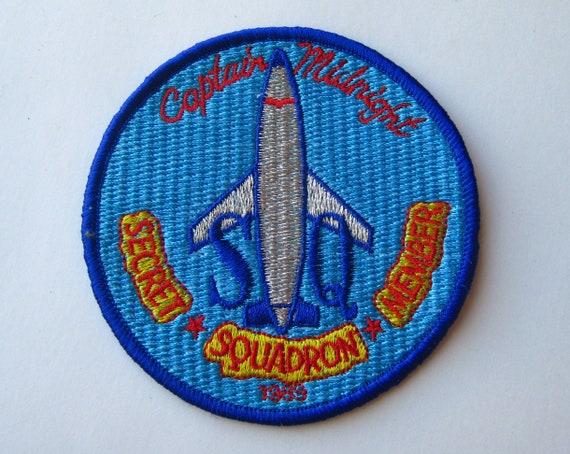 Vintage 1989 Captain Midnight Secret Squadron Memb