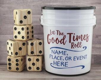 Cornhole alternative. Yardzee 20 fun games Yard dice games for Adult & Kids. Yatzee Yatzy Wedding. No need for bean toss bag corn hole board