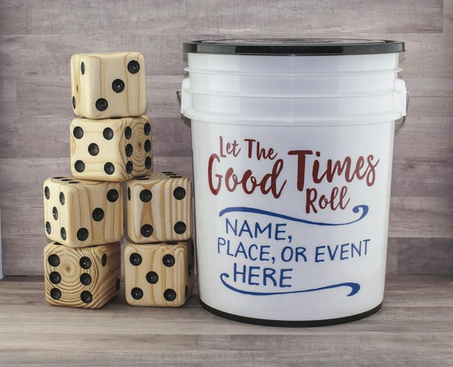Cornhole alternative. Yardzee 20 fun games Yard dice games for | Etsy