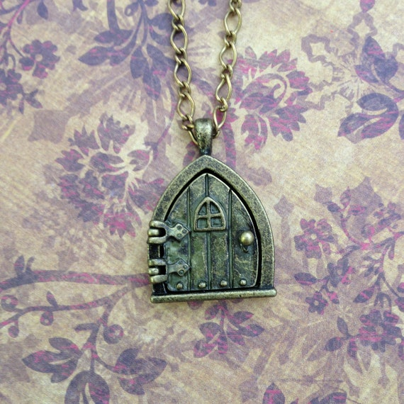 Hobbit Fairy Door Wish Locket