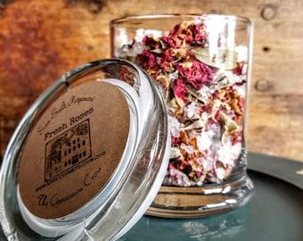 Rose Garden sea salt jar potpourri