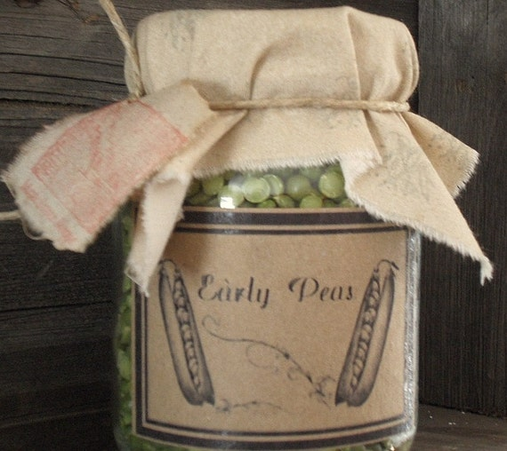 Pantry Jar       Peas