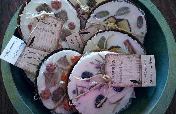 Jumbo Sox  Wax Tarts in Rusty Tin