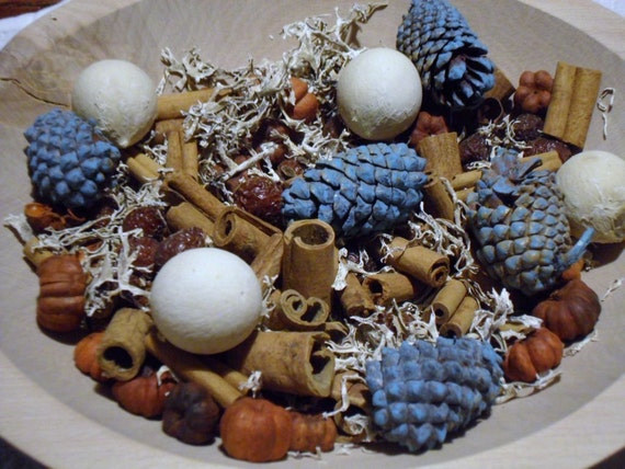 Jack Frost Fixins  -  primitive bowl fillers w/ refresher oil