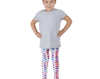 Lipstick Pattern Kid's leggings
