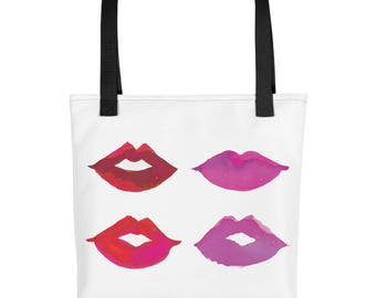 Lipstick Warrior Tote bag