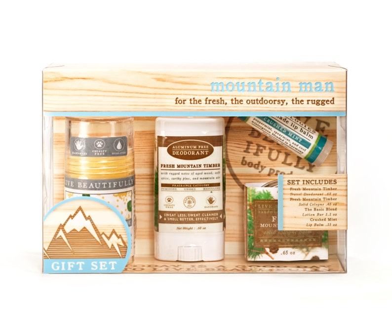 Mountain Man Gift Set   Body Product Gift Set  Lotion image 0