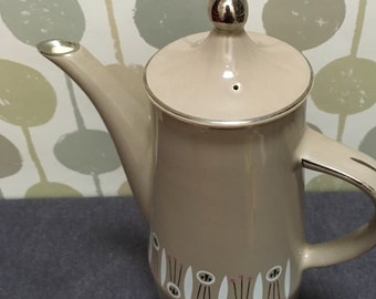 Palissy - Royal Worcester - Coffee Pot - Kon Tiki - Atomic - Vintage