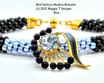 Class - Mid Century Modern Bracelet - at the Tucson Gem Show