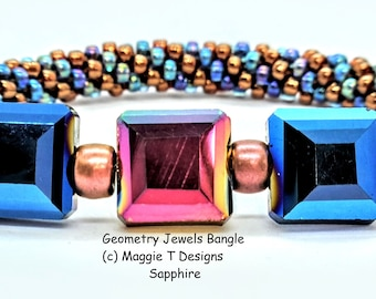Class - Geometry Jewels Bracelet - at the Tucson Gem Show