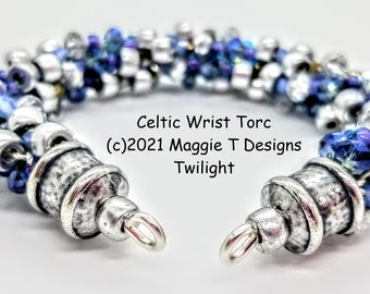 Celtic Wrist Torc Bangle