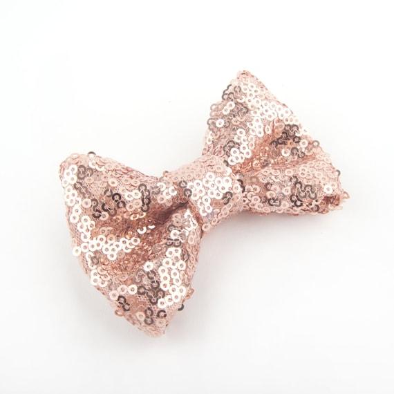 5x Femme Col Aux Perles Pailletées Doré Avec Noeud Papillon