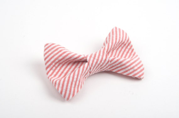 Toddler Boy 4T 5T Red With White Pin Dots Clip On Cotton Bow Tie amy2004marie