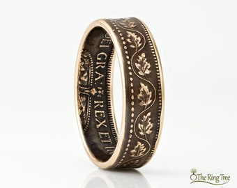 Canada Large Cent - Coin Ring - Bronze Ring