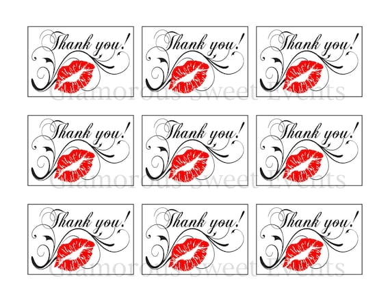 photo regarding Printable Thank You Labels identified as Prompt Obtain, Printable Thank Your self Label, Printable Thank On your own Tag, Glamorous Lovable Activities