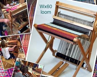 saori wx60 FOLDING wood loom  In Stock ready to ship today do not buy until you contact me tariff fees etc   :Saorisantacruz