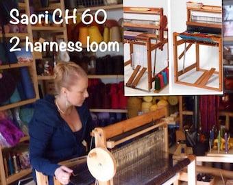 "Saori CH60 saori  wood loom  24""x26"" footprint do not buy till you contact me additional tariff fee etc iN stock ships today Saorisantacruz"