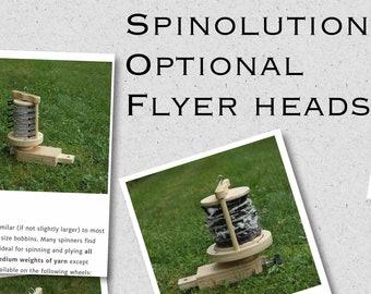 one hook orifice:saorisantacruz Spinolution Flyer Head includes 1 bobbin