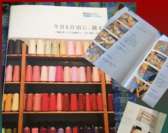 Saori  book on weaving  Kyomo Jiyuni Oru free shipping: Saorisantacruz