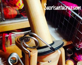 Heavy Duty wood Ball Winder nancy's knit knacks 2 sizes of pigtail guides included  Xxl AND Reg size  :saorisantacruz