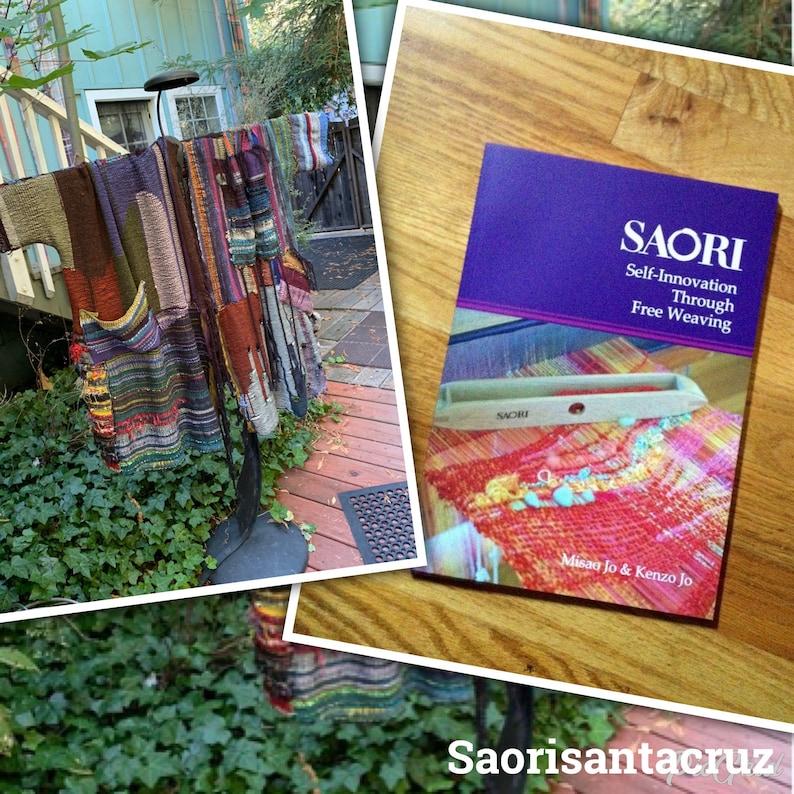The Saori english  weaving book in english Self innovation image 0