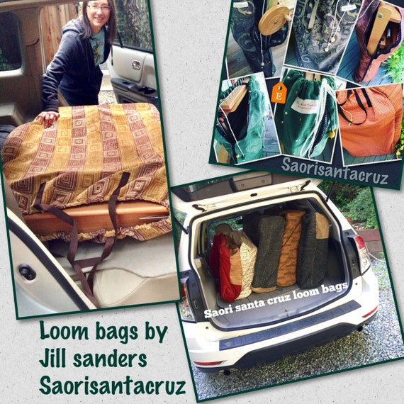 Folding floor loom bag to fit any of Saori full size wx60 or sx60 looms