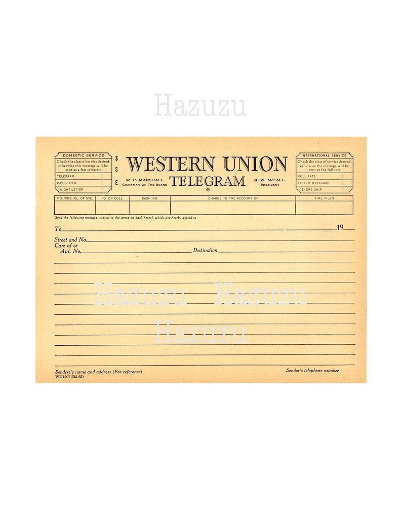 Old telegram Western Union telegraph blank paper texture PNG background  overlay printable junk journal instant download collage journal