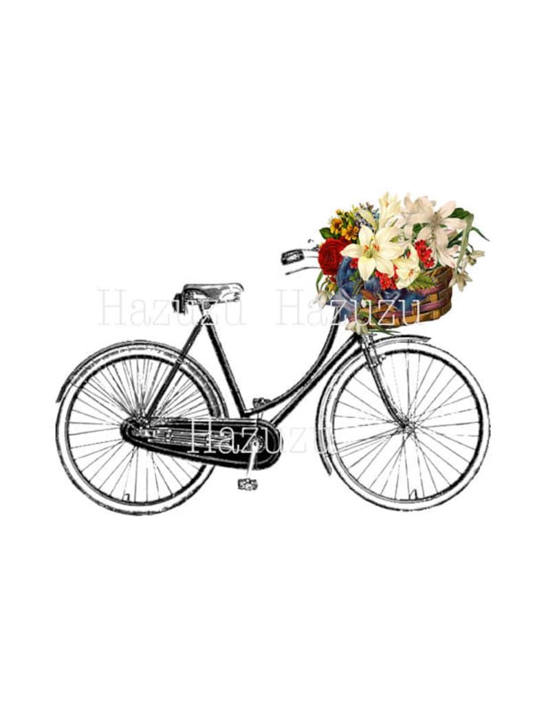 Png Di Biciclette Bici Clip Arte Vintage Trasparente Sfondo Etsy