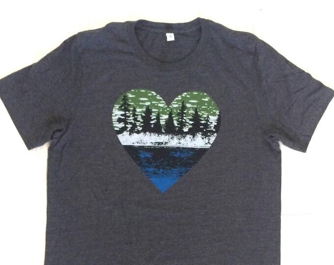 lake life lake shirt nature shirt outdoors gift outdoors shirt mens apparel adult apparel screen printed tee birthday gift gift for him