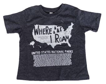 Kids National Park Shirt US National Parks Kids Outdoor Explorer, Outdoor Adventure, National Parks Shirt, youth explorer, Nature Explorer