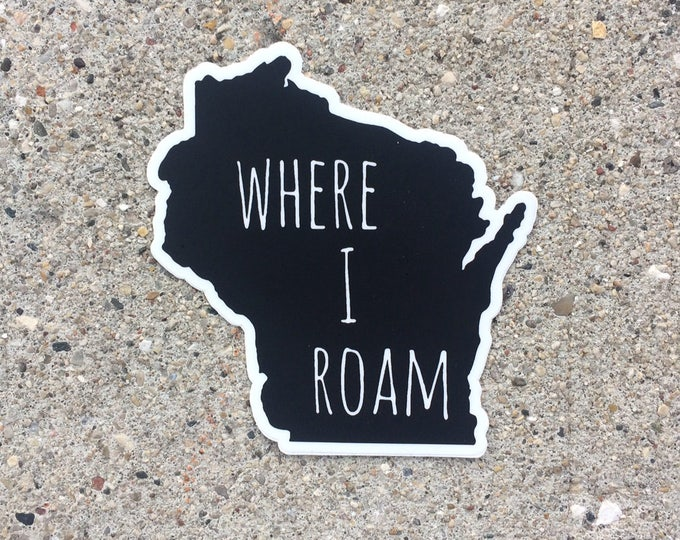 Wisconsin Vinyl Sticker