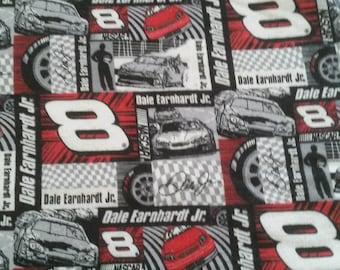 Dale Earnhardt Jr #8 flannel fabric 5 pieces NASCAR