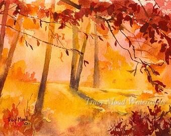 Autumn Trees 4