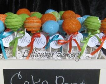 Moana Birthday Party Favors, 1 dozen cake pops made to order