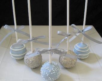 Wedding Favors: Premium Wedding Cake Pops, Dessert Table, Candy Station, Wedding Favors, 1 dozen