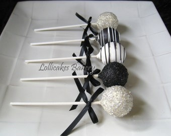 Graduation Favors, Graduation Cake Pops Made to Order with High Quality Ingredients, 1 dozen cake pops