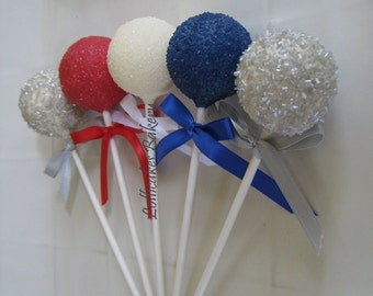 Birthday Favors: Cake Pops Made to Order with High Quality Ingredients, Super Hero Birthday, Super Hero Favors