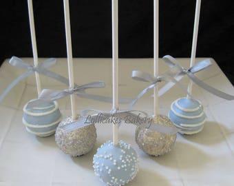 Dessert Table: Cake Pops and Dipped Pretzel Rods