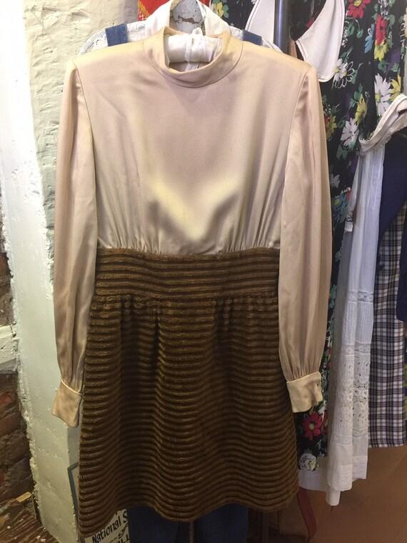 1960s Dress Vest Set