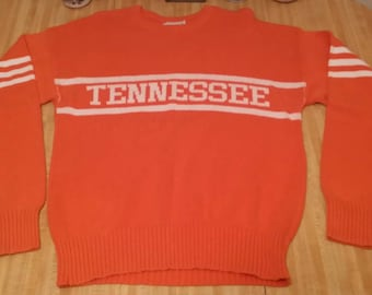 University of Tennessee Volunteers Vintage Cliff Engle Sweater LARGE 7947e4d86