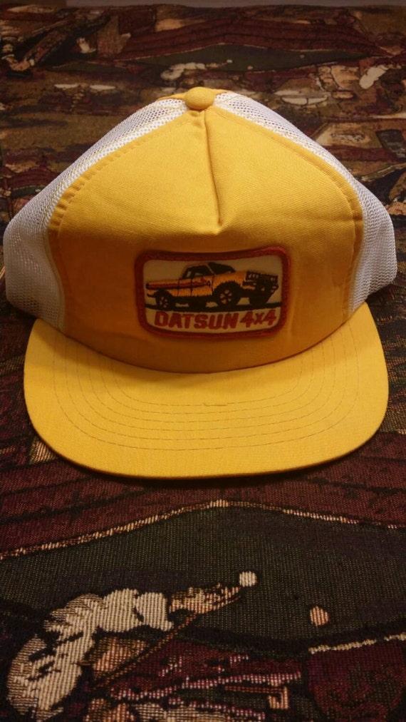 bc8e7d464a6 Datsun 4x4 Vintage Snapback Trucker Hat
