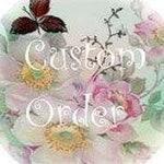 Custom Order for Gloria