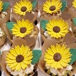 Gumpaste Sunflowers