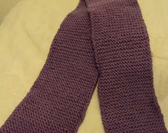 SALE**** Solid purple thick winter scarf