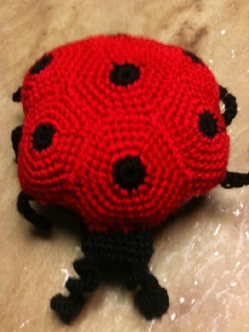 Crochet Pattern Little Miss Lady Bug image 0