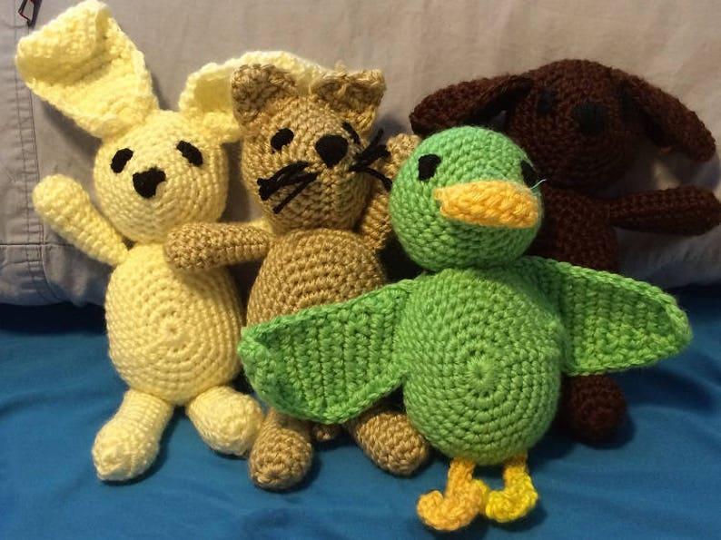 Crochet Pattern MinAnimals image 0