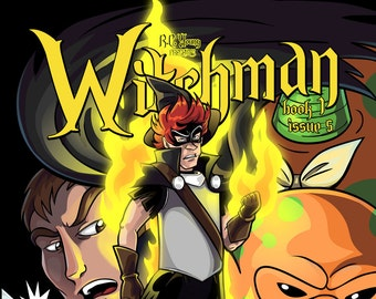 Graphic Novel  - Witchman Book 1 Issue 5