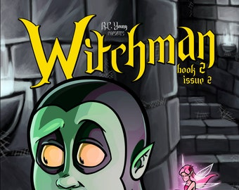 Graphic Novel - Witchman Book 2 Issue 2
