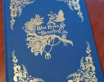 Blue Eyes and the Beastling Limited Edition fairy tale romance graphic novel