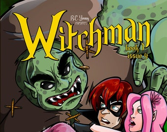 Graphic Novel  - Witchman Book 1 Issue 4